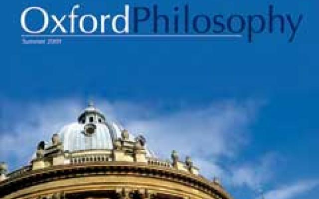Oxford Philosophy Magazine 1st Edition