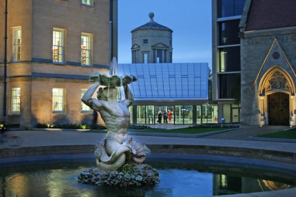 Radcliffe Humanities at Night