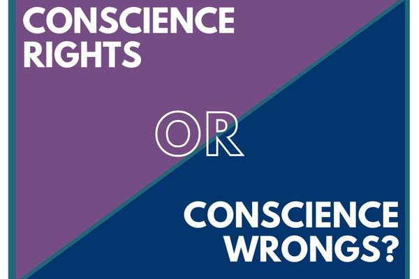 "Oxford Uehiro Centre ""Conscience Rights OR Conscience Wrongs? logo"